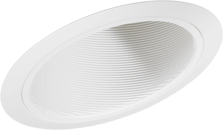 Juno Lighting Group 614W-WH 6-Inch Standard Slope Downlight Baffle, White Trim