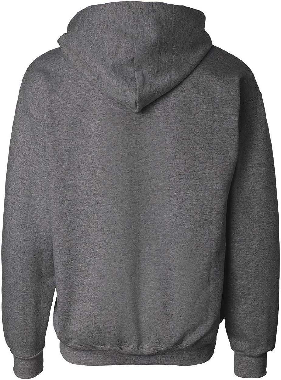 90/10 Ultimate Cotton Full Zip Hood 10.2oz Carbon, Meliert