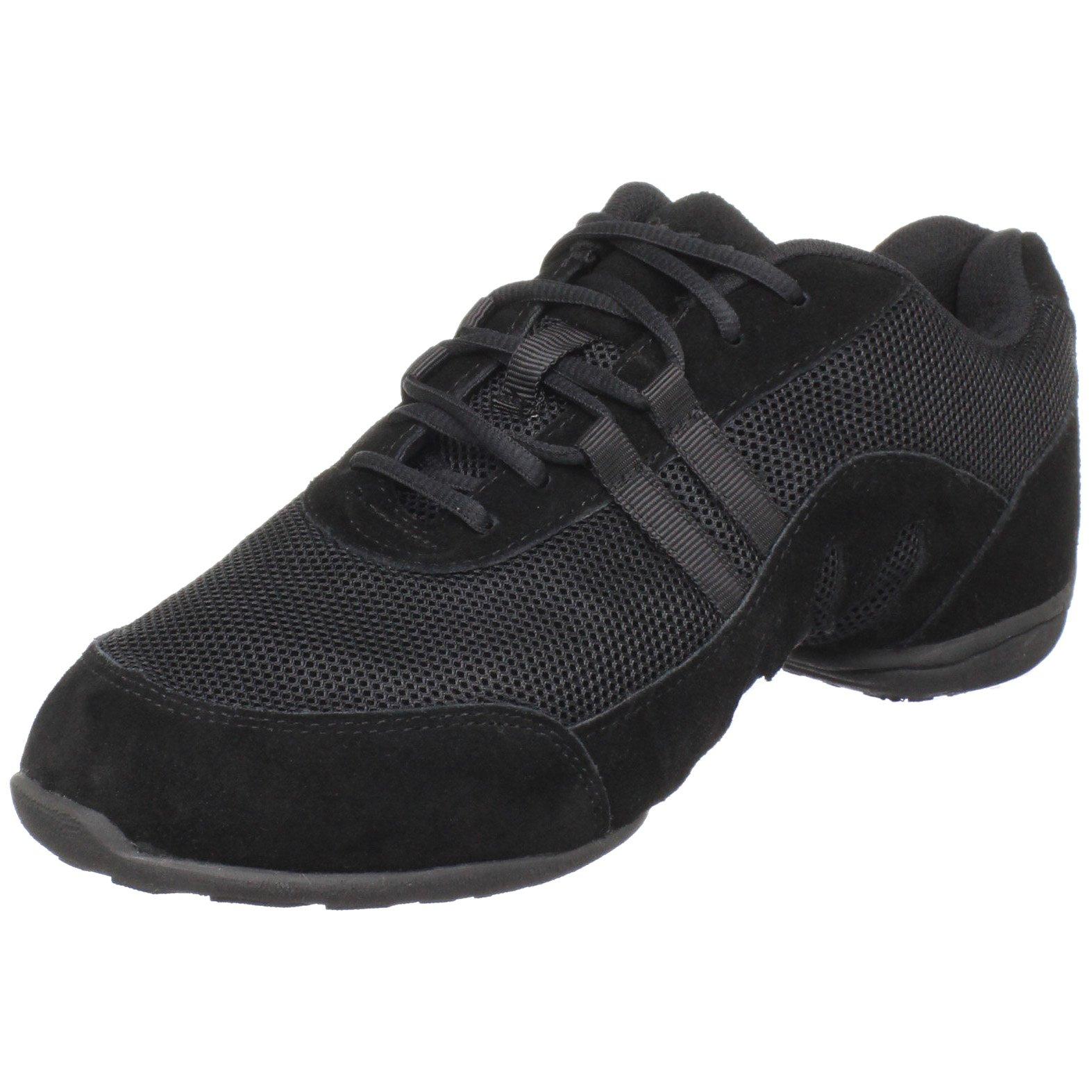 Sansha Blitz 3 Dance Sneaker,Black,8 (7 M US Women's) by Sansha