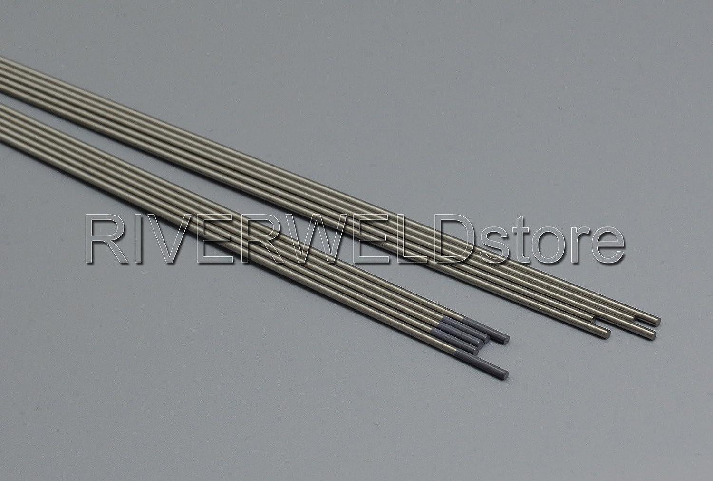 1//16 x7 /& 1,6mm x175mm 10pk 2/% C/érium WC20 Gris TIG Electrode Tungsten Paquet de 10
