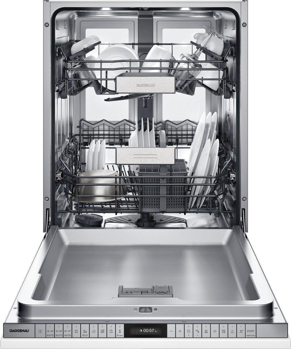 Gaggenau lavavajilla Totalmente integrado DF 480 162 de 60 cm ...