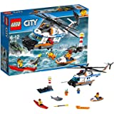 LEGO 60166 - City Coast Guard, Elicottero della Guardia Costiera