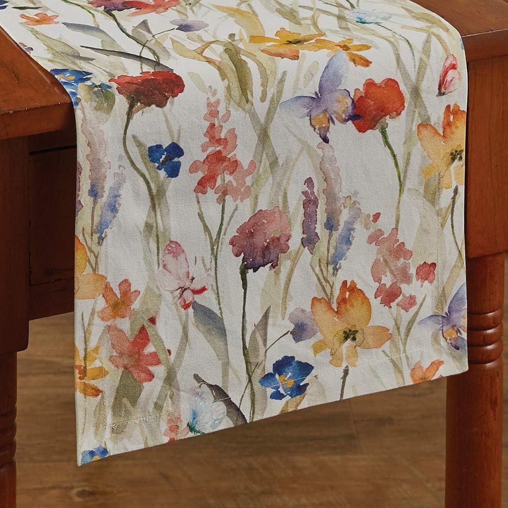 Park Designs Enchantment Table Runner 13x36 Home Kitchen Amazon Com