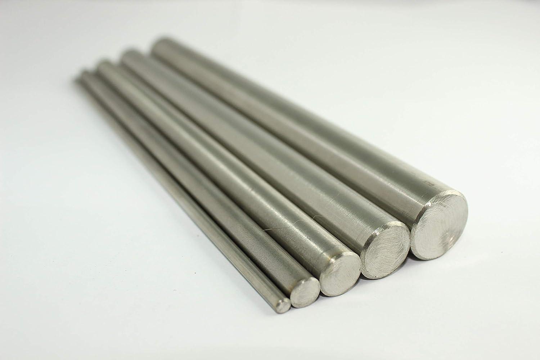 V2A Rundstahl Oberfl/äche geschliffen Edelstahl Stab Stabstahl Rundeisen L/änge 150 cm Abmessungen /Ø 10mm