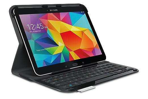 """96 opinioni per Logitech Custodia con Tastiera per Galaxy Tab 4 10"""""""