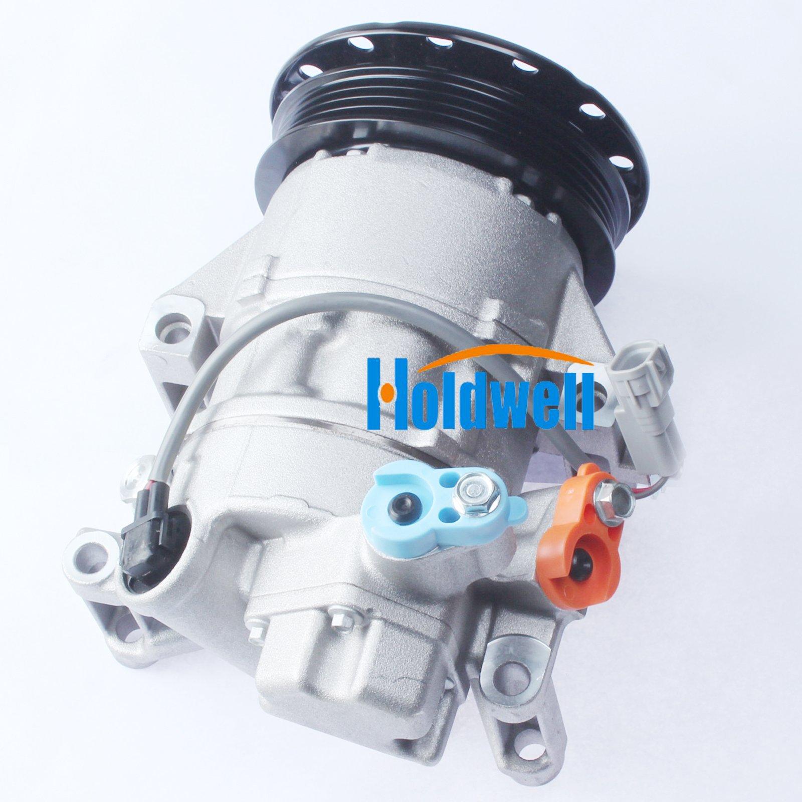 Holdwell 4PK AC Compressor 88310-52550 88310-52492 for Toyota yaris 1.3 Denso 5SER09C