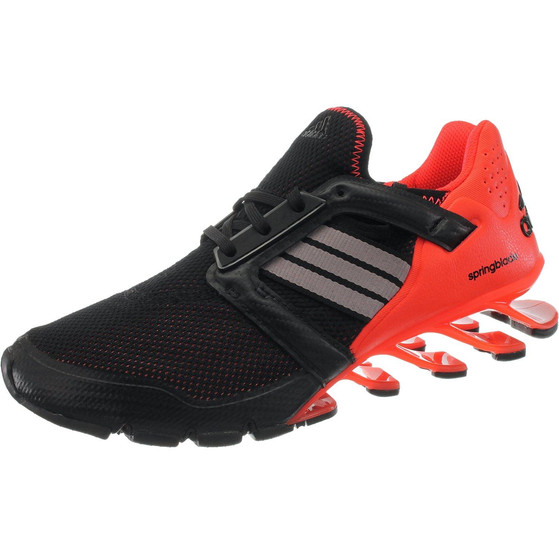 adidas Springblade E-Force - Zapatillas de Running de Material Sintético Para Hombre 42 2/3 EU Rojos-negros