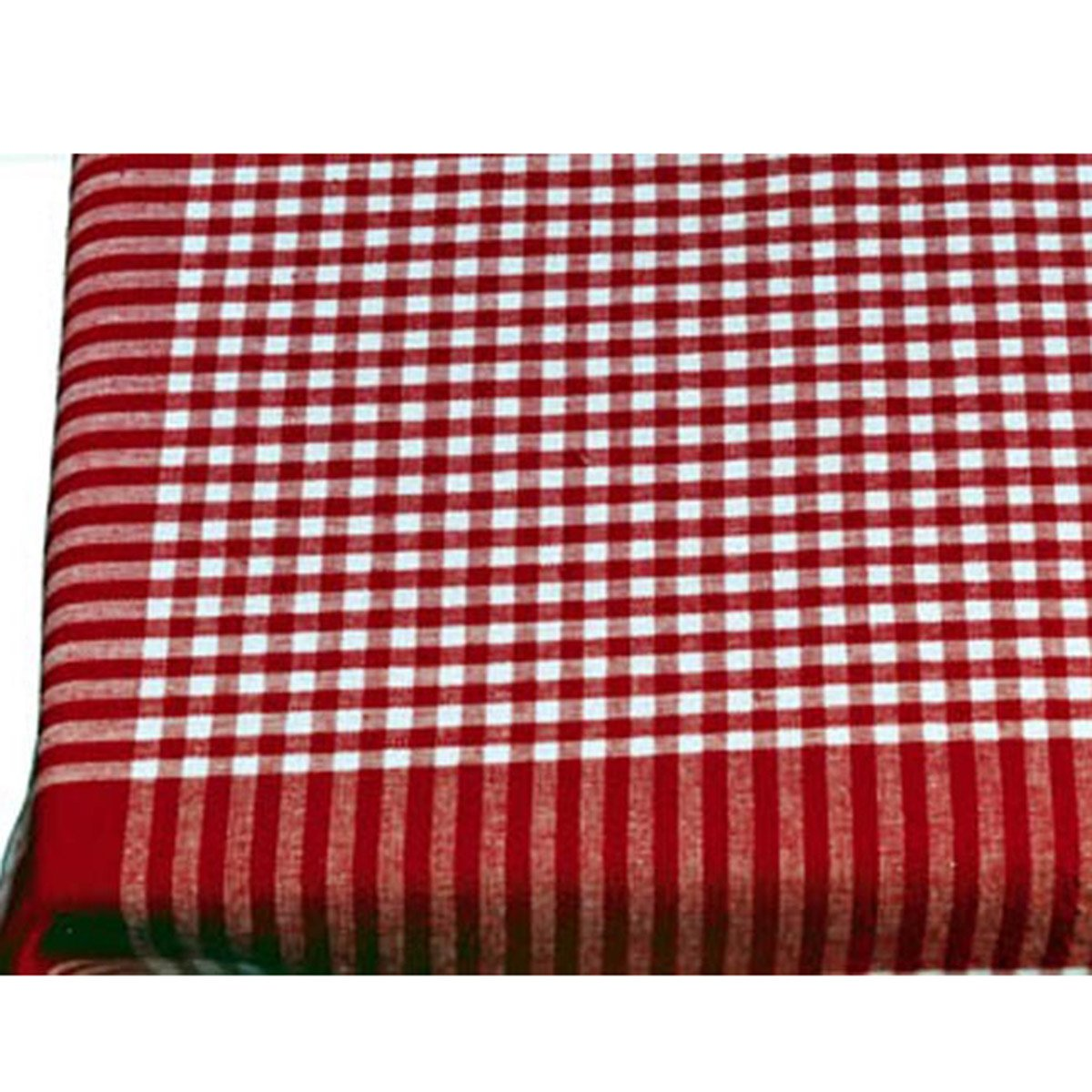 Beau Amazon.com: Red Cotton Gingham Check Picnic Tablecloth, 52 Inch Square:  Home U0026 Kitchen