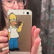 6b2307938e8 Designer - Carcasa para iPhone 5 y 5s, diseño de Los Simpsons ...