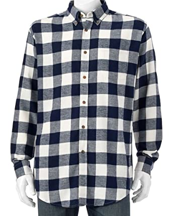 e65ed141c4 Croft   Barrow Classic Fit Flannel Shirts (Small) at Amazon Men s ...