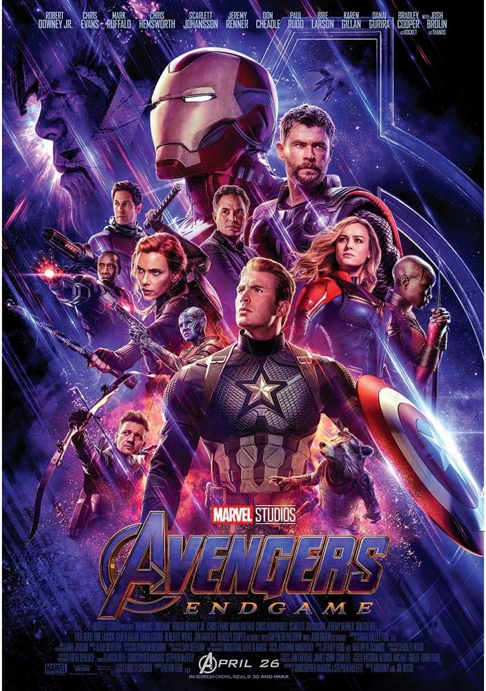 1000Piece Jigsaw Puzzle Marvel Avengers Endgame Original