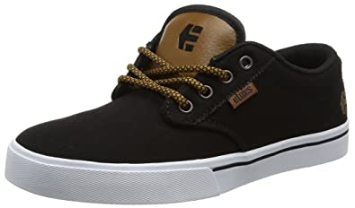 Etnies Mens Men s Jameson 2 ECO Skate Shoe Black raw 6 Medium US 839a1cd346
