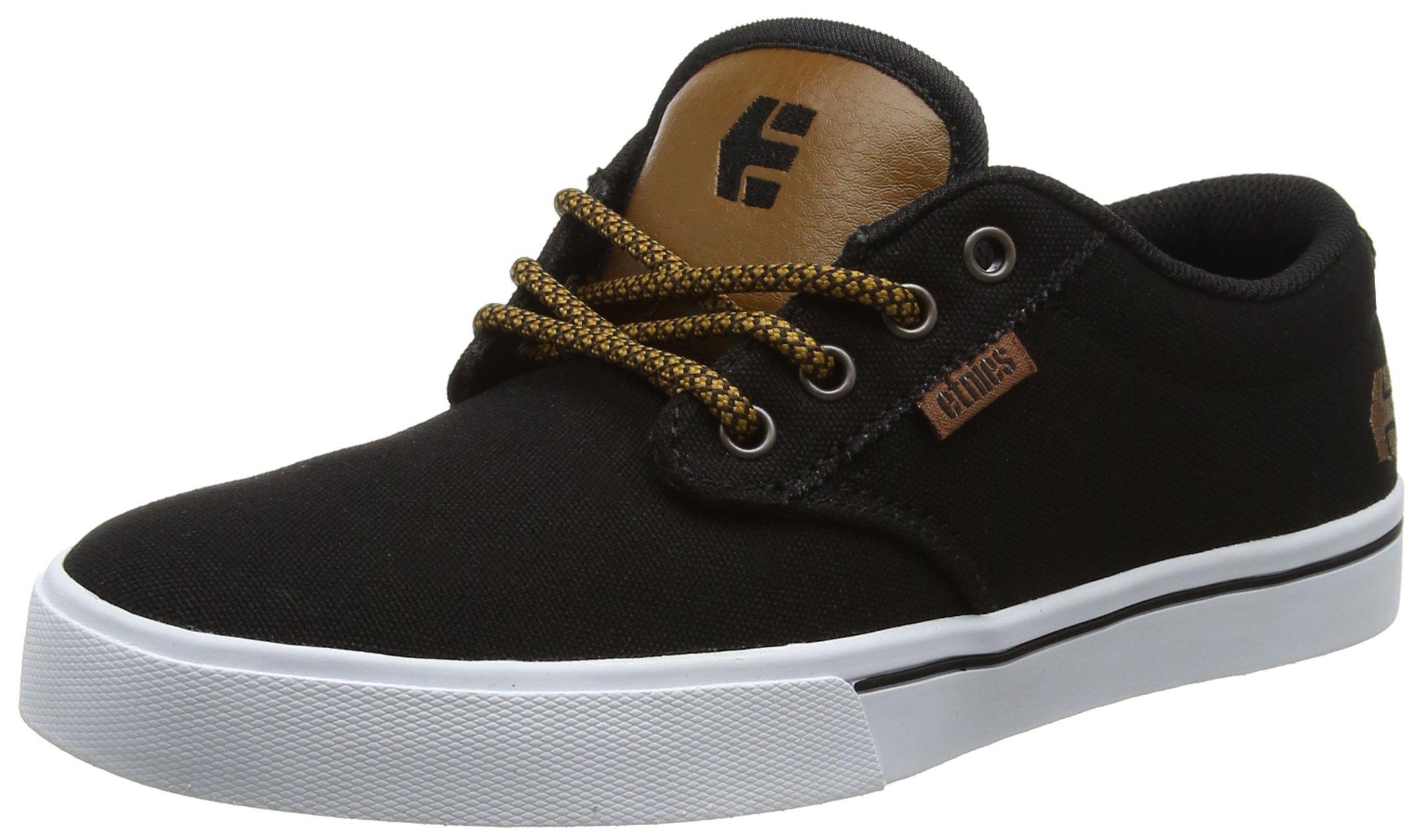 Etnies Mens Men's Jameson 2 Eco Skate Shoe, Black Raw, 12 Medium US