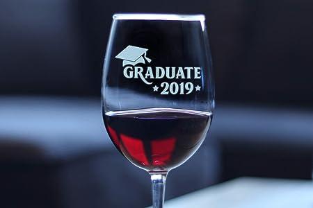 Graduate 2019 Copa De Vino Con Tallo Copa Para Vino Blanco