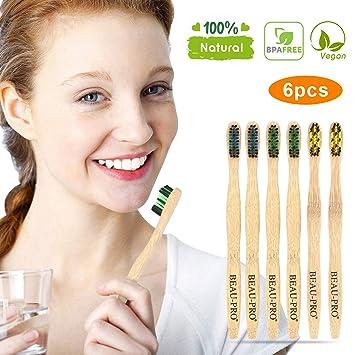 Cepillo Dientes Bambu,Cepillo de Dientes Bambu,Sostenibles ...