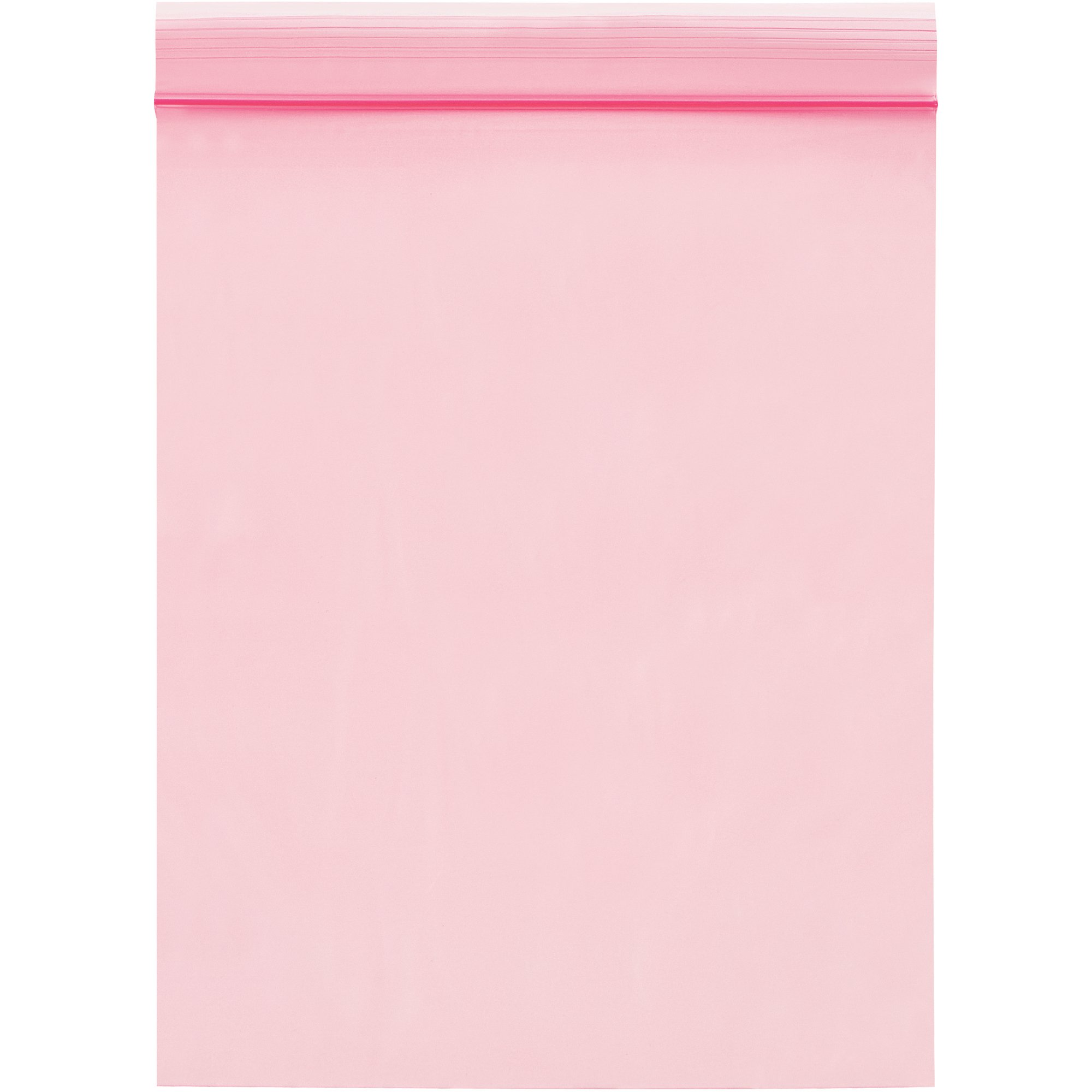 Boxes Fast BFPBAS725 Anti-Static 2 Mil Reclosable Poly Bags, 6'' x 9'', Pink (Pack of 1000)