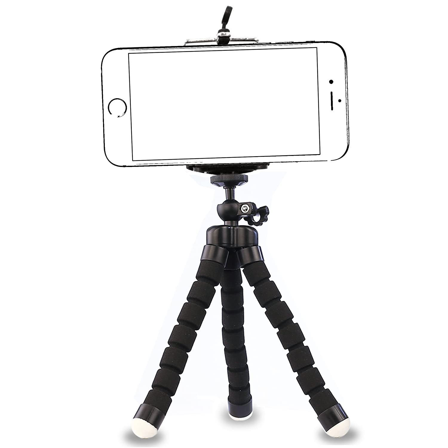 iphone tripod by ailun tripod mount stand phone holder