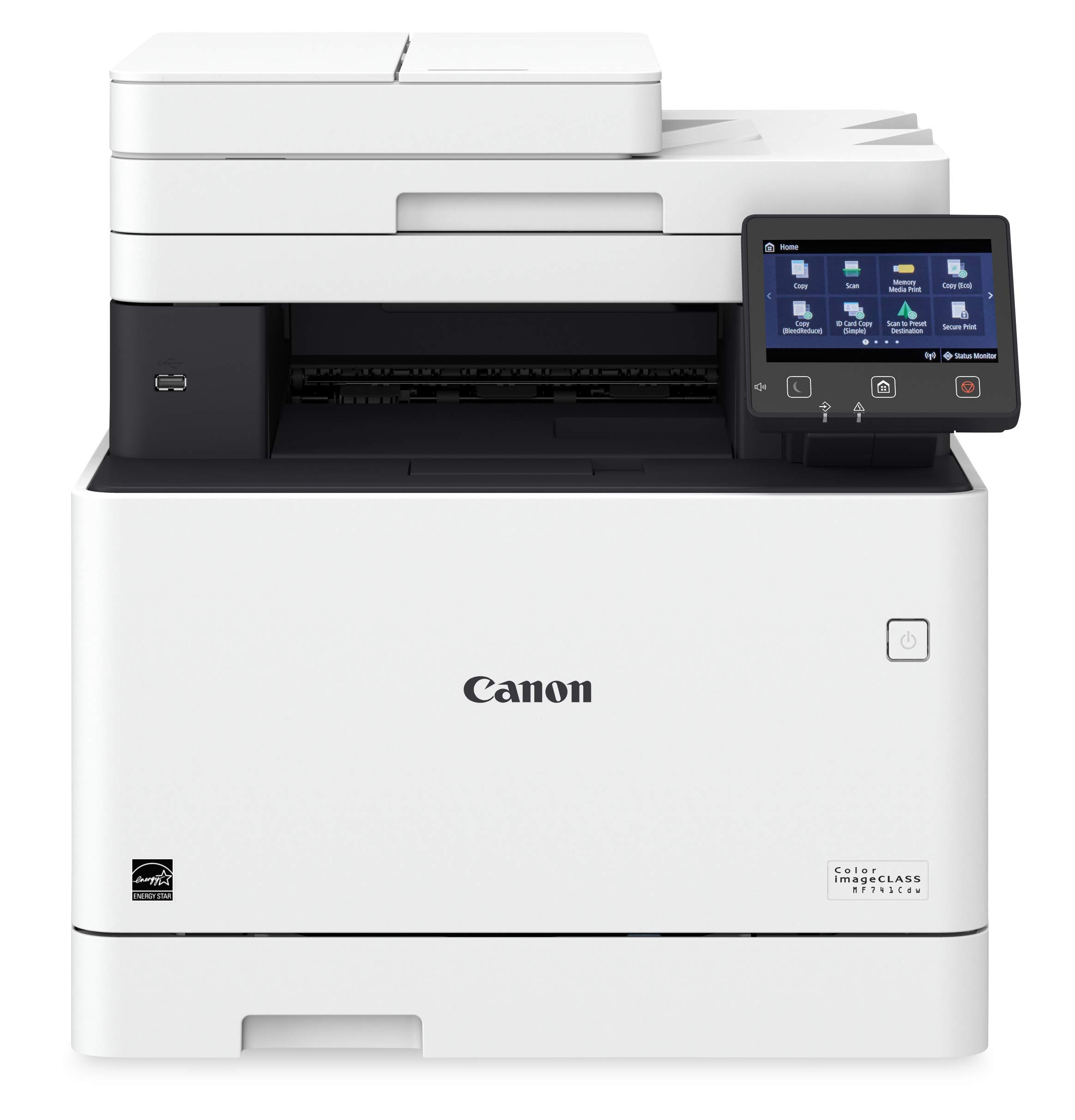Canon Color imageCLASS MF741Cdw - Multifunction, Wireless, Mobile Ready, Duplex Laser Printer (Comes with 3 Year Limited Warranty)