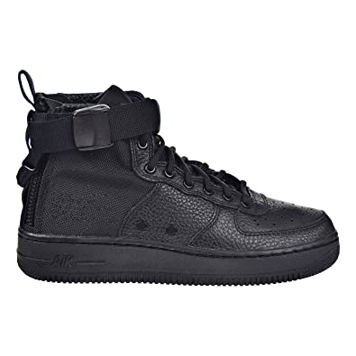 NIKE SF AF1 Air Force MID Big Kids Shoes Black aj0424-003 (3.5 M