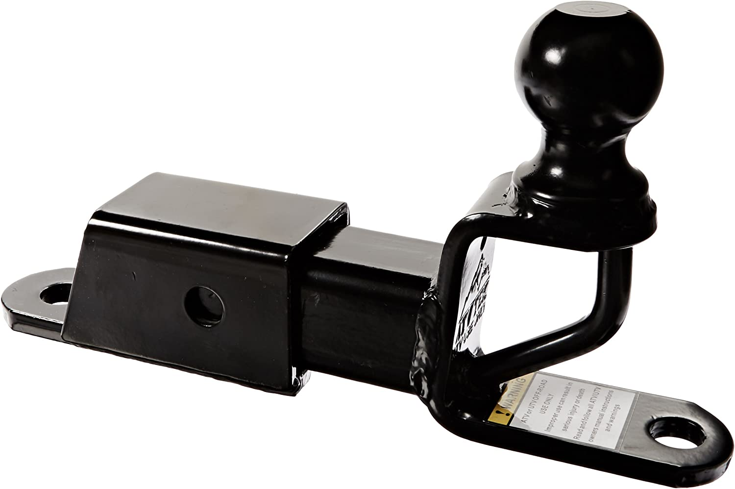 ATV TEK, TRH1 Trio HD Receiver Hitch with Ball Mount, Heavy-Duty Tow Hitch