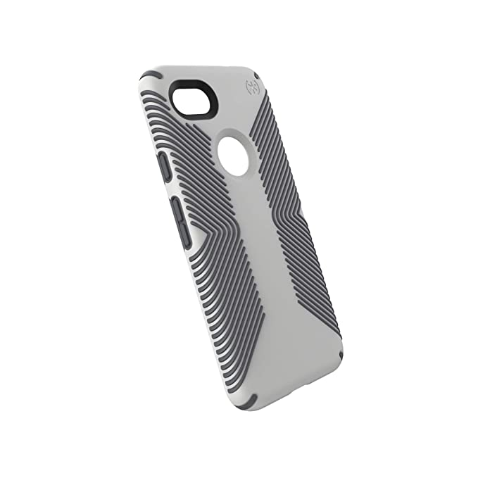 the best attitude 88d47 8d28f Speck Products Google Pixel 3a Case, Presidio Grip, Marble Grey/Anthracite  Grey