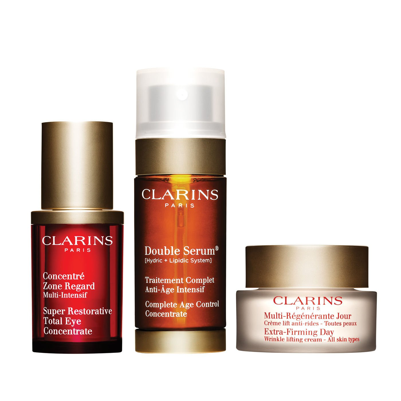 Clarins Firming Experts: Age-Control Trio Gift Set Lines & wrinkles do an about-face!