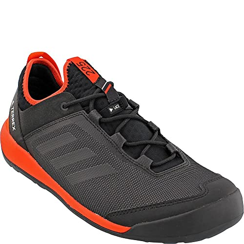 d50cb229d5ef adidas Sport Performance Men s Terrex Swift Solo Hiking Sneakers, Black,  Mesh, Textile,