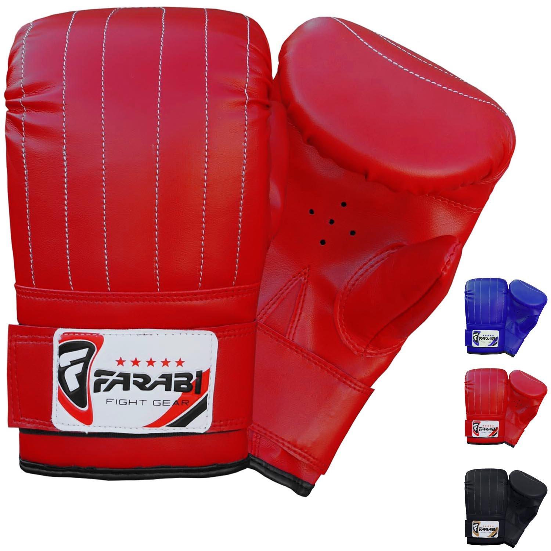 Boxeo saco boxeo guantes mma Guantes guante guantes de entrenamiento Farabi Sports punching bag mitt 1