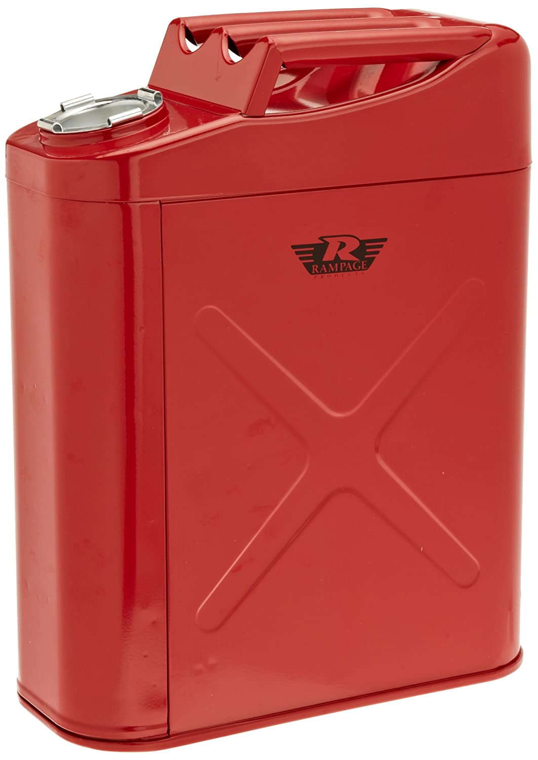 RAMPAGE PRODUCTS 86619 Red Universal Trail Can Utility//Tool Box