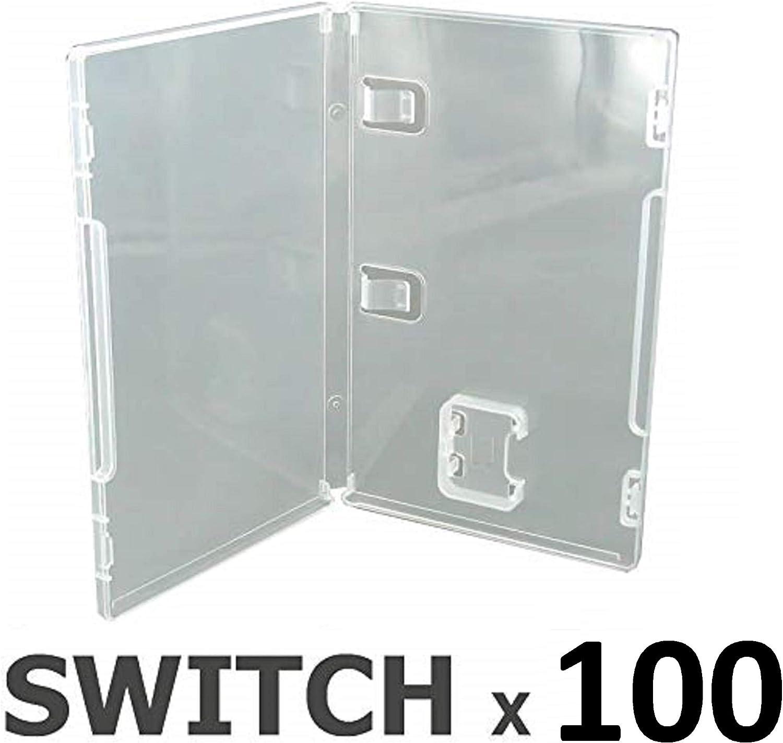 Pack 100 Cajas vacías para Nintendo Switch: Amazon.es: Videojuegos