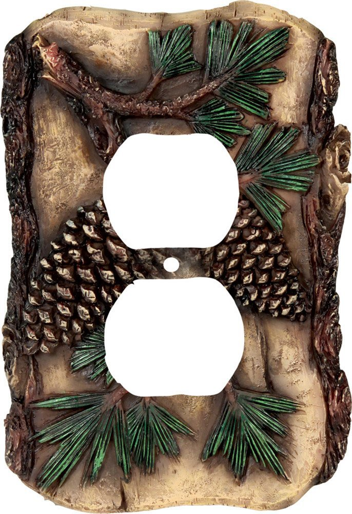 River's Edge Products Pine Cone Receptacle Cover