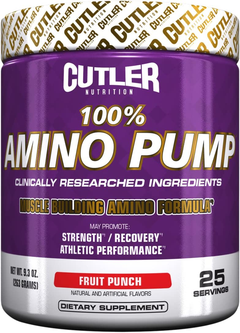 Cutler Nutrition 100 Amino Pump Muscle Building Formula
