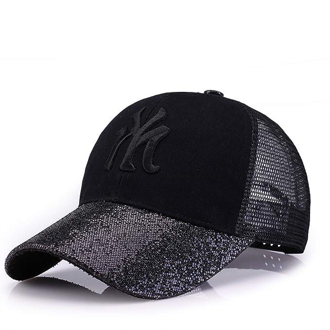 b341694790b ANDERDM 2017 New Baseball Caps Canada Women s Cap with Mesh Bone Hip Hop  Lady Embroidery Hats