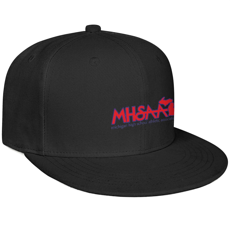 Ingemarfcgfg Michigan-High-School-Athletic-Association Unisex Baseball Cap Dancers Style Fashion Adjustable Snapback Closure