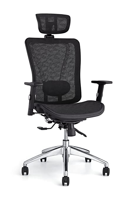 amazon com cedric ergonomic mesh office chair high back desk