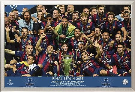 FC Barcelona de Campeones de póster con diseño de la selección + Empire: Amazon.es: Hogar