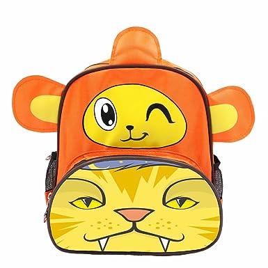 9c08e1ccd7c0 MSTTT Custom Design Your Own Image Monkey Cartoon Yellow Cat Child  Waterproof School Bag Boy Kid