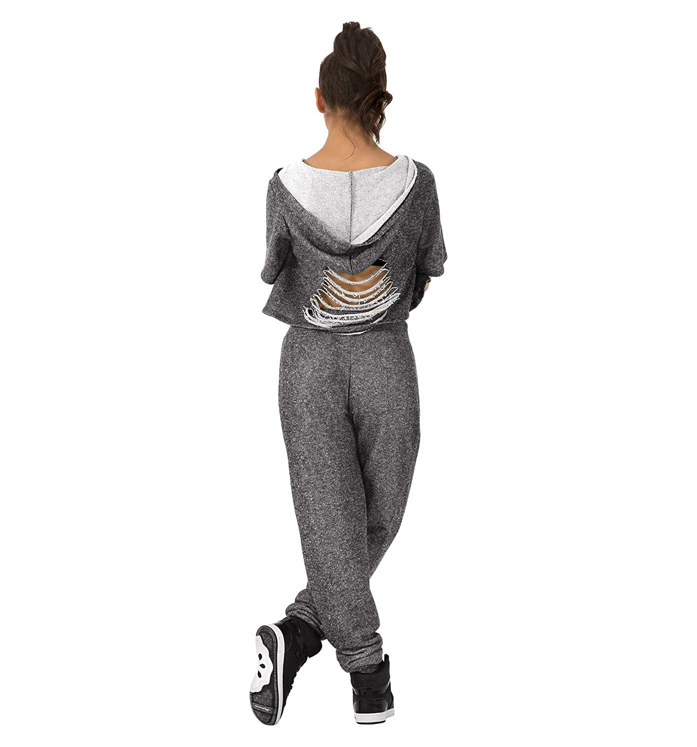 Dance Department Adult Ripped Sweat Pants D3018