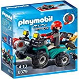 Playmobil - Robber on Quad Bike - 6879