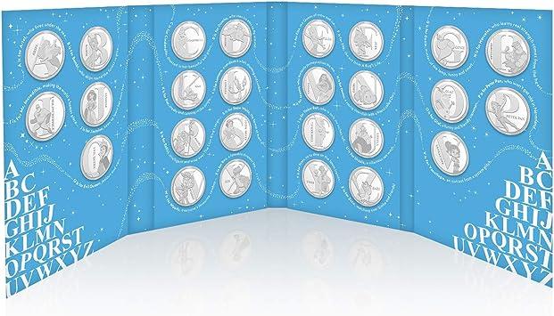 IMPACTO COLECCIONABLES Disney Colección de Monedas / Medallas A-Z - Collector Pack: Amazon.es: Juguetes y juegos