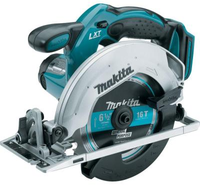 Makita 18-Volt LXT Lithium-Ion 6-1/2 in. Cordless Circular Saw (Tool-Only)-XSS​02Z - The Home Depot