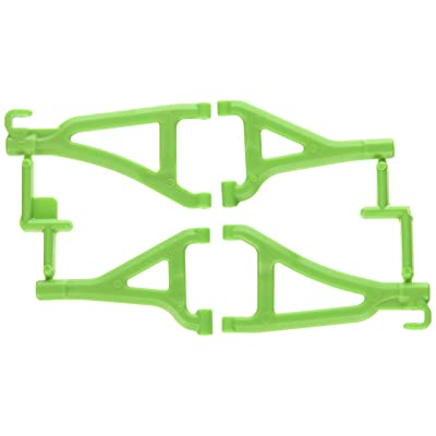 RPM Front Upper and Lower A-Arms for Traxxas Mini 1/16 E-Revo, Green: Toys & Games