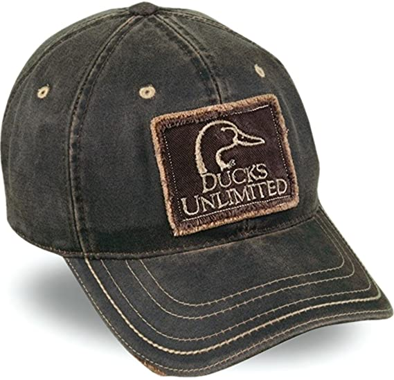 Ducks Unlimited® Weathered Cotton Cap at Amazon Men s Clothing store ... dc455d9bb84