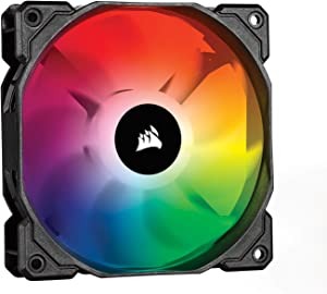 Corsair CO-9050093-WW iCUE SP120 RGB Pro Performance 120mm Fan, Single Pack