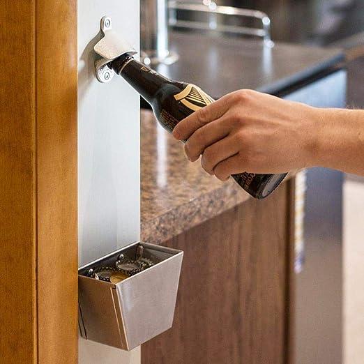 Create idea Conjunto de 3 accesorios de ba/ño con instalaci/ón porta-toallas de acero inoxidable 304 cepillado