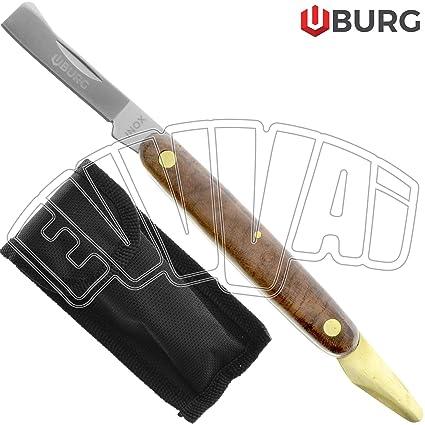 Cuchillo para injertar, con filo de paleta, navaja para ...