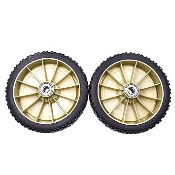"""jrl Artesano cortadora de césped 8 """"x 1,75"""" rueda trasera cortacésped"""