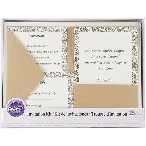 Pocket Wedding Invitations Amazon Com