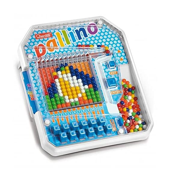 Quercetti Pallino Colored Ball Mosaic Game