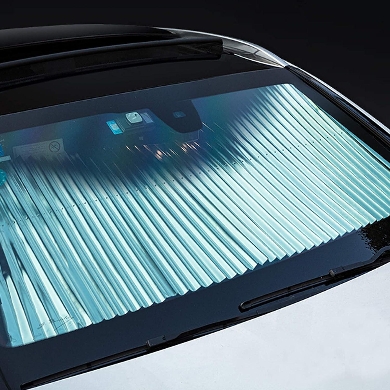 Fansport 2PCS Auto Fenêtre Ombre De Voiture Fenêtre Bouclier Rétractable UV Protection Ombre De Soleil pour Voiture Fenêtre